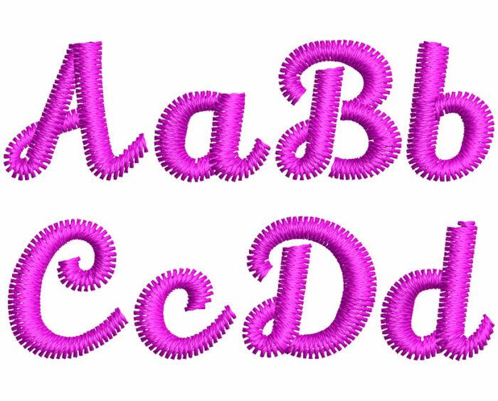 Lily Script esa font letters icon