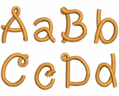 Pasta eas font letters icon