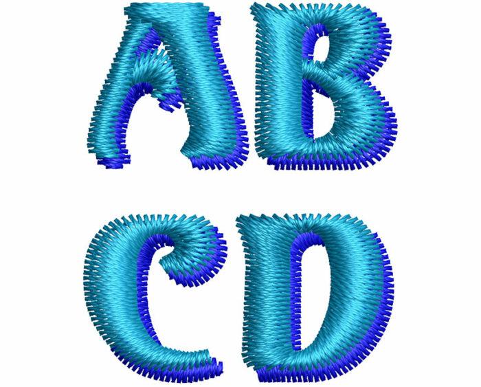 Volute 2 color esa font letters icon