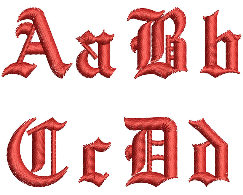 English Towne 30mm Font 2
