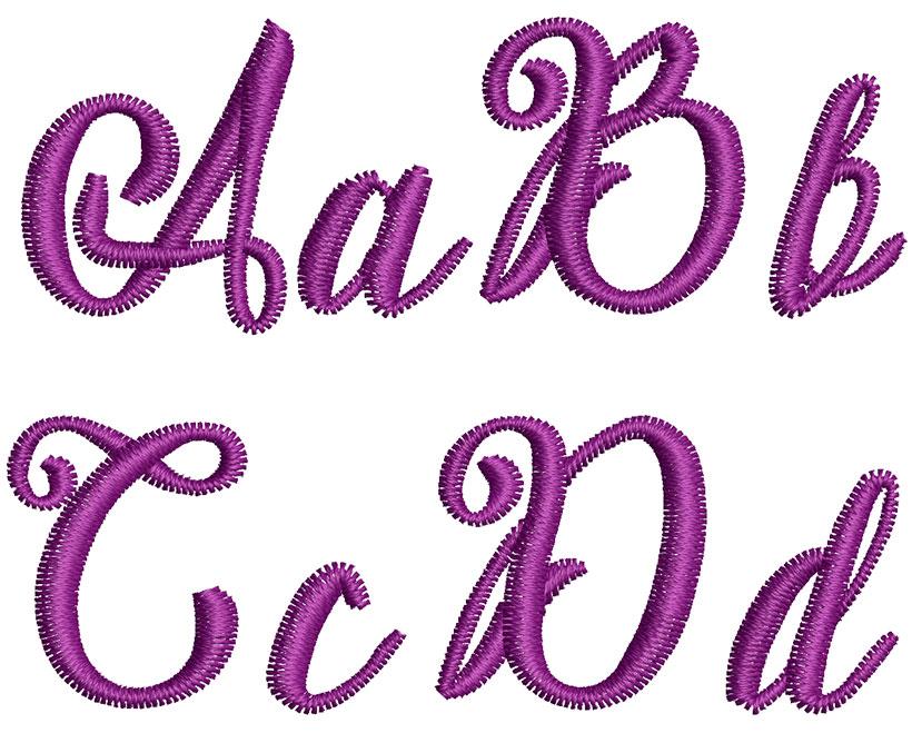 Kayleigh 25mm Font 2