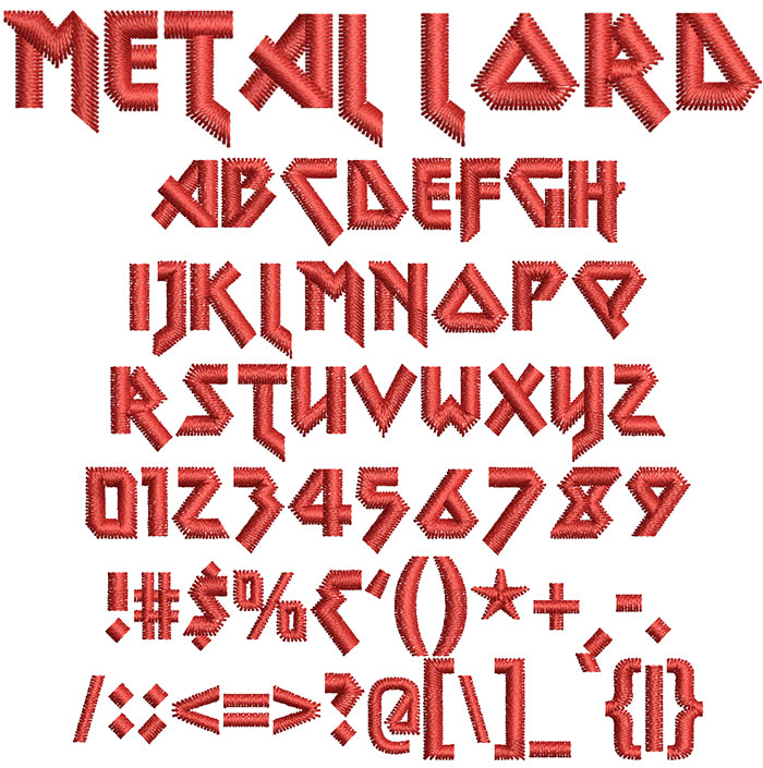 Metal Lord Font 1