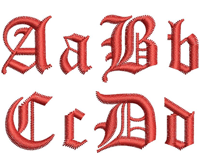 Old London 20mm Font 2