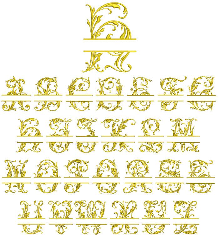 Split Mono 70mm Font 1