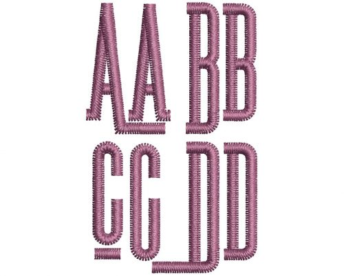 Brooklyn esa font letters icon