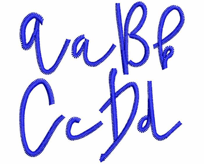 Hello esa font letters icon