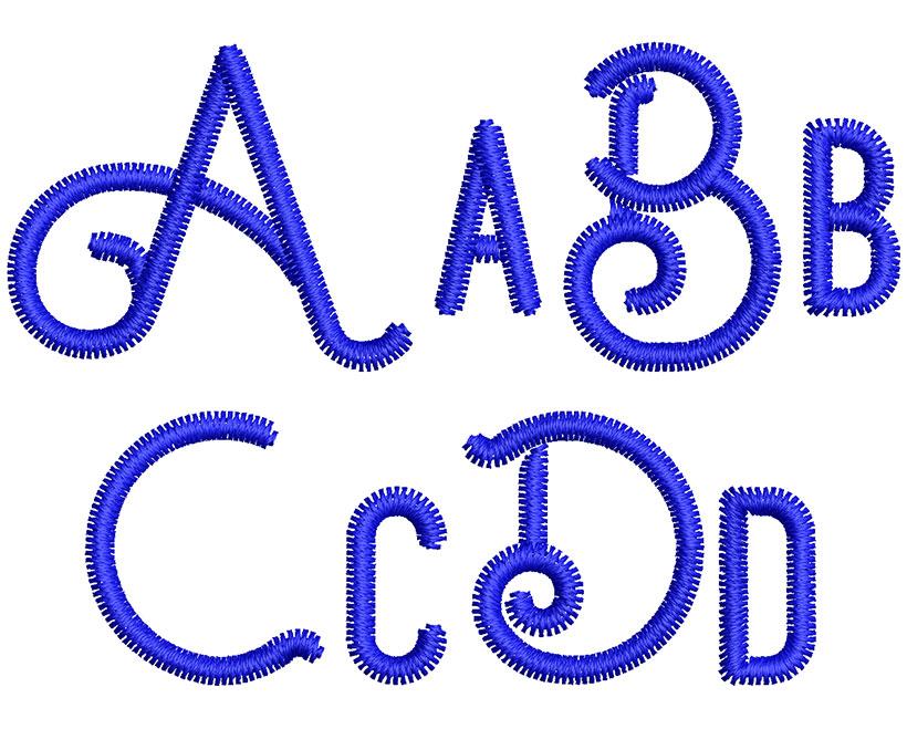 Ocela esa font letters icon