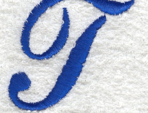 Embroidering Digitizing for Towels (Terry Cloth)
