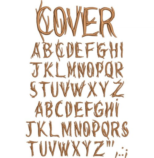 Cover 25mm Font
