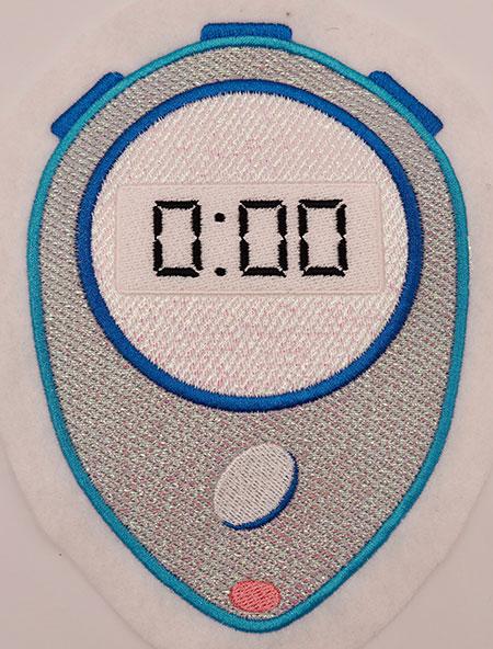 mylar stopwatch