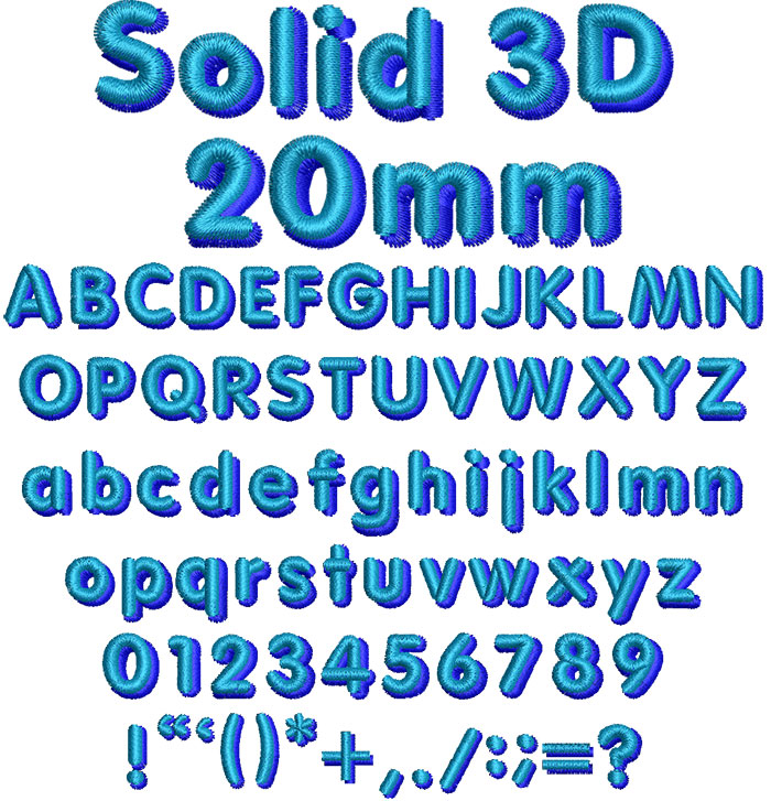 Solid3D20mm