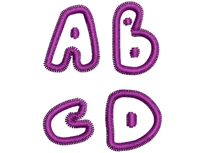 Blobatstics esa font letters icon