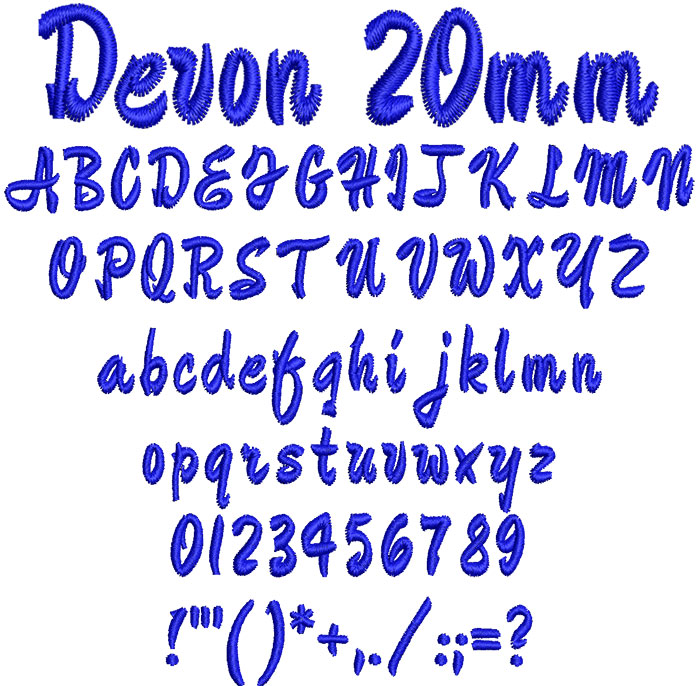 Devon20mm