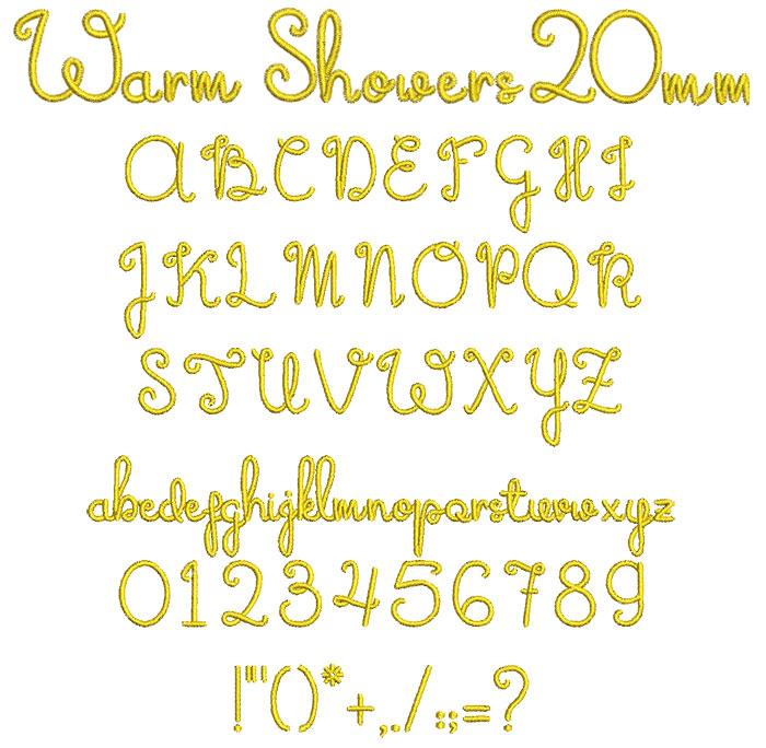 WarmShowers20mm