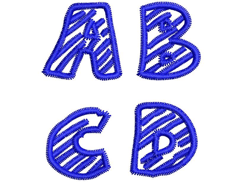 Chalk Dash esa font letters icon