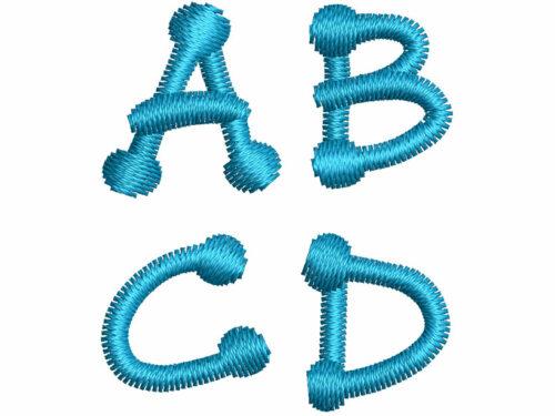 Dot Stick esa font letters icon