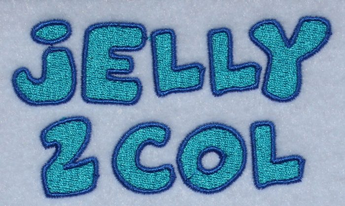 Jelly 2 color esa sew out