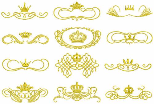 Royal Crowns ESA Elements