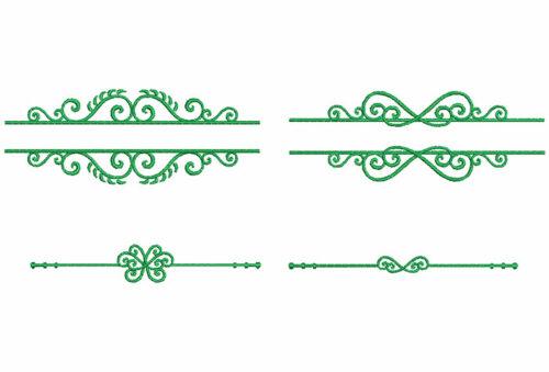 Swirls frames icon