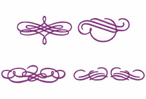 Vintage Swirls single icon