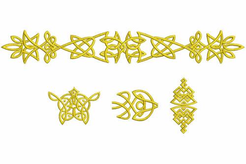 Celtic elements icon
