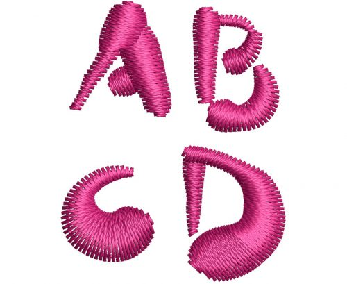Paint Blobs esa font letters icon