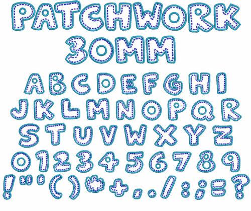 Patchwork 30mm Font