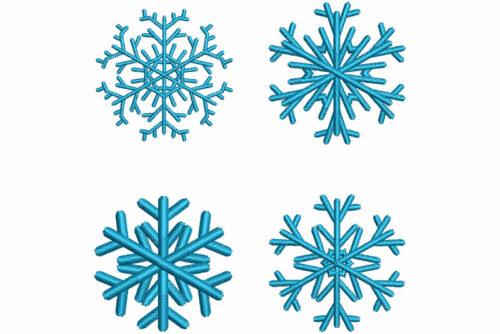 snowflake elements icon