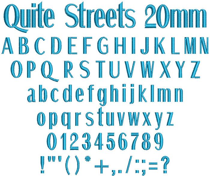 QuiteStreets20mm