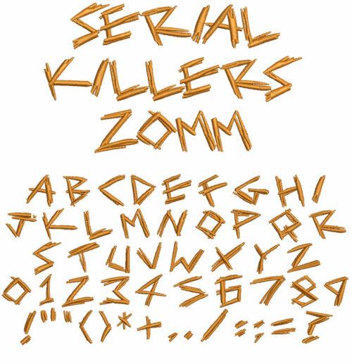 Serial Killers esa font icon