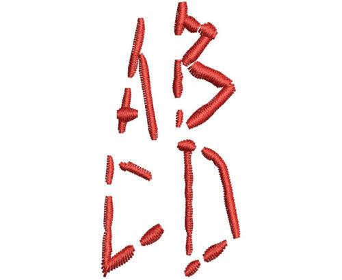 Slice esa font letters icon