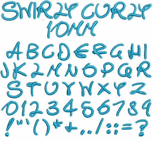 Swirly Curly esa font icon