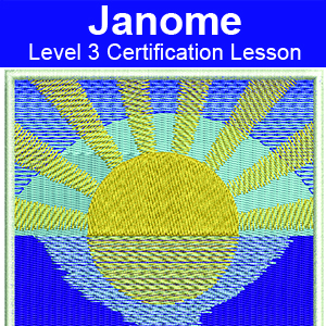 Janome certification icon