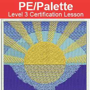PE Palette certification icon