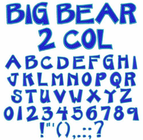 Big Bear Color Font