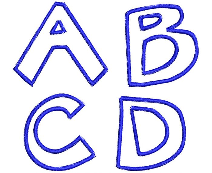 Big Bear esa font letters icon