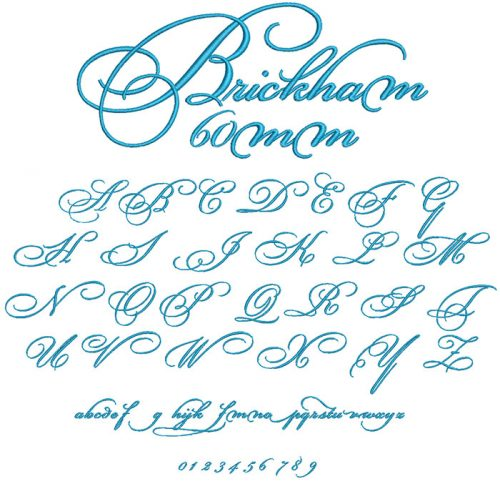 Brickham esa font icon