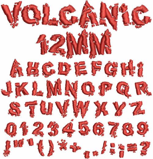 Volcanic esa font icon