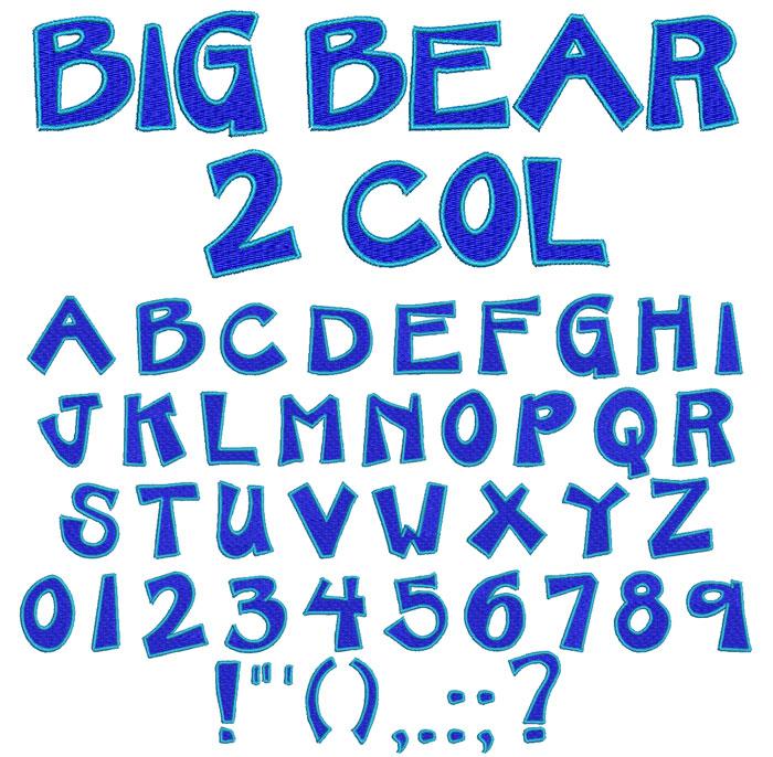 BigBear2Col30mm