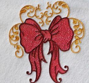 Mylar Embroidery Design