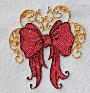 mylar embroidery design
