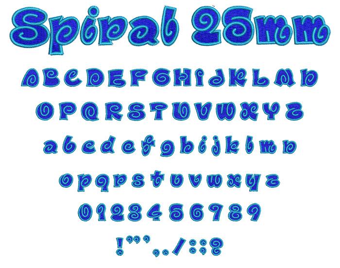 Spiral2Col25mm