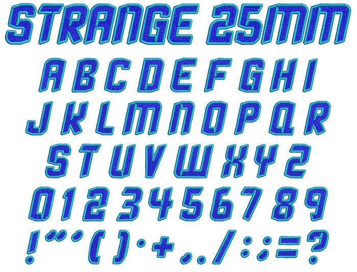 Strange2Col25mm