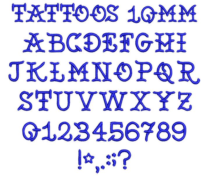 Tattoos10mm