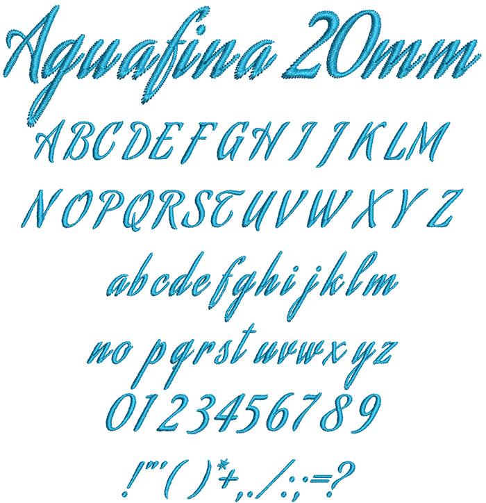 Aguafina20mm