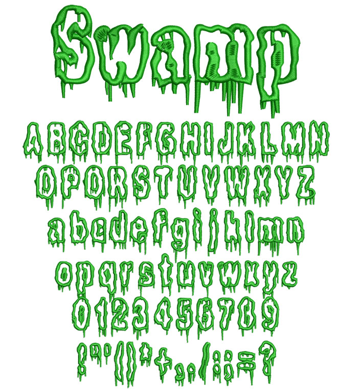SwampApplique50mm