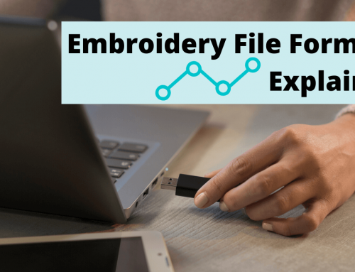 Understanding Machine Embroidery File Formats