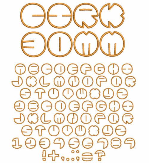 Cirk 30mm Font