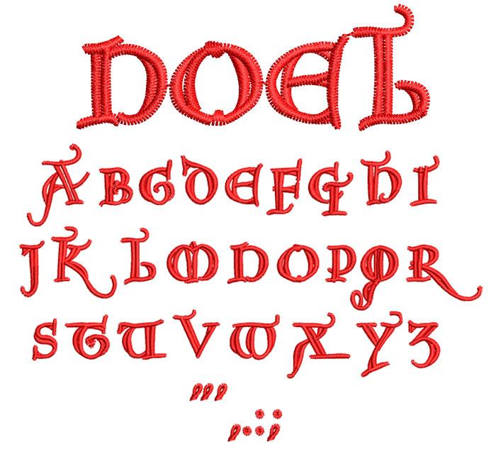 Noel 20mm Font