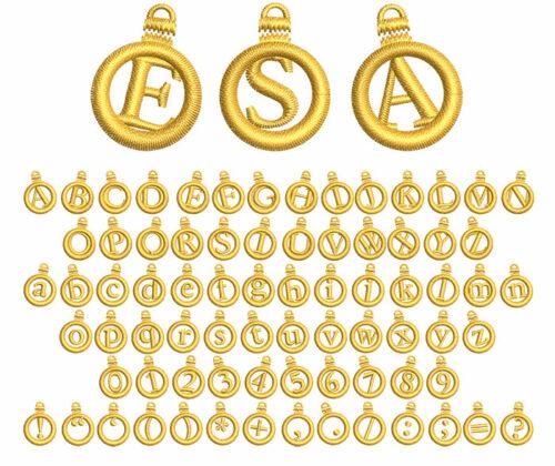Ornament Applique Font
